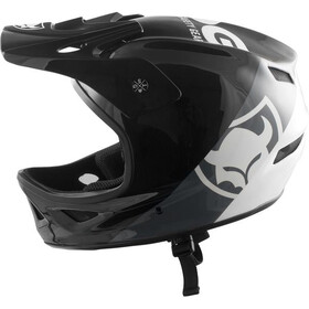 TSG Squad Graphic Design Helm, zwart